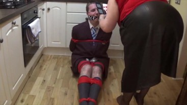 Schoolboy kept bound and gagged all night - part 1 of 9 cam 1