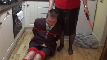 Schoolboy kept bound and gagged all night - part 2 of 9 cam 1