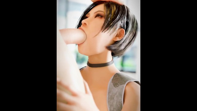 Ada Wong Blowjob Resident Evil animation 3d with Sound