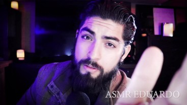 ASMR Boyfriend Helps You Rest For Your Test Tomorrow Ft. Handsome Hunk
