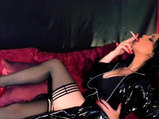 Chain Smoking Countdown Preview - Smoking Fetish - Young Goddess Kim