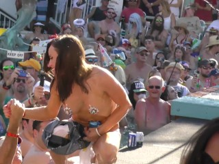 Naked Pool Party Goes Out Of Control Wild Party Sluts