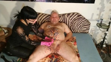 Beth Kinky - Clothespins cbt and cock teasing for sub slave pt1 HD