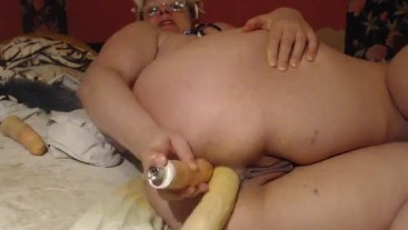Extreme and rough penetration, balls in pussy, prolapse, ATM, destroy my ho