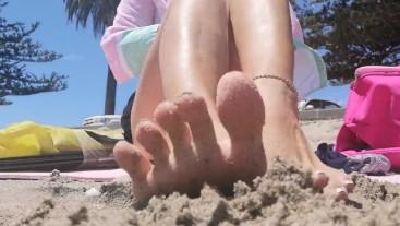 Beach Feet - Asmr Whispers