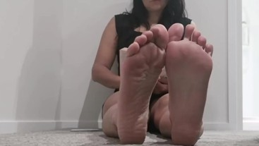 Foot Soles and Whispers 23 mins long.