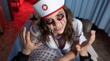 VR 180 – Mysterious Nurse Alexis Fawx helps patient settle down