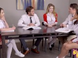 Facts Of Lust – Lucky Classmates Group Fuck With Nat And Jo S2:E9