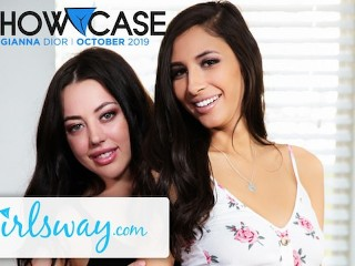 Girlsway Whitney Wright & Gianna Dior Lesbian Truth or Dare! main image