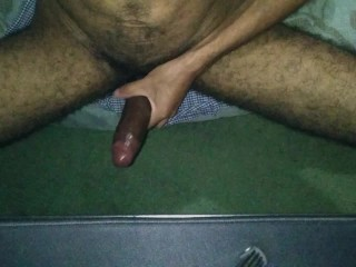Trying Out My Cockring