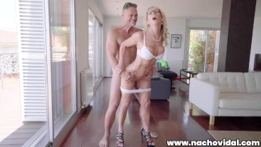 Fucking ROUGH with a Busty MILF