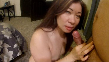 asian milf sucks and fucks boyfriends best friend