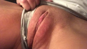 Home all alone, again. Watch me play with my needy wet pussy. REAL orgasm