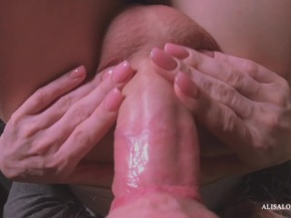 Evening Blowjob of a Sweet Cock Female POV