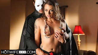 Shared Hotwife Piper Cox Fucks a Stranger at Halloween Party
