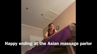 Happy ending at the Chinese Massage Parlor