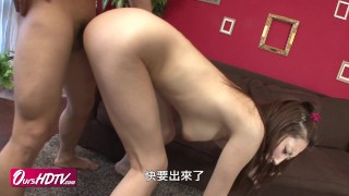 [OURSHDTV][中文字幕]Hot busty Japanese chick fuck uncensored