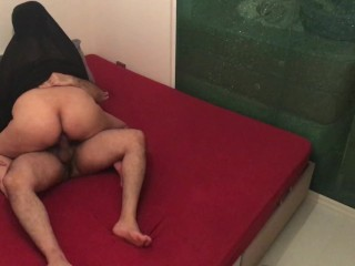 HIDDEN CAM I FUCKED MY FRIENDS HIJAB WIFE WHILE HE IS AT WORK