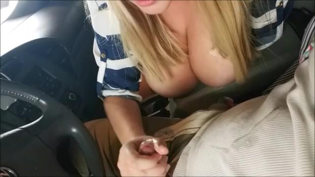 Annabelle cheung porn Amateur handjob and blowjob in car