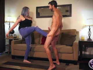Couples First Ball Busting Full