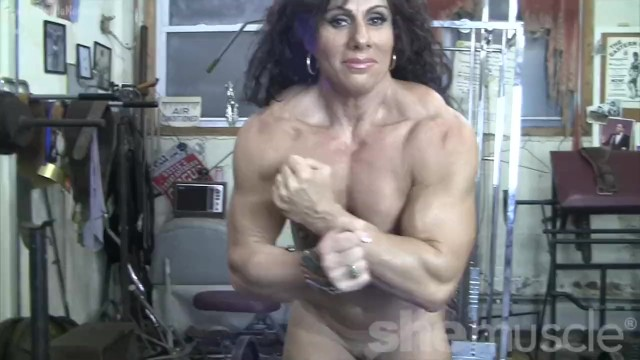 Female bodybuilders nude akila Muscular naked female bodybuilder shows off completely nude