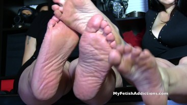Foot Seduction by Julie & Maya