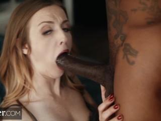 Preview 3 of Deeper. BBC Fucks Karla Kush while Cuckold Husband Watches
