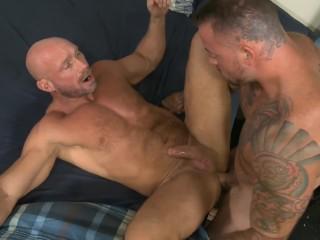 Sean shoves his cock into Killian & the ass-pounding ensues
