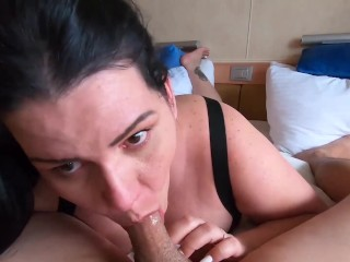 Latina milf takes