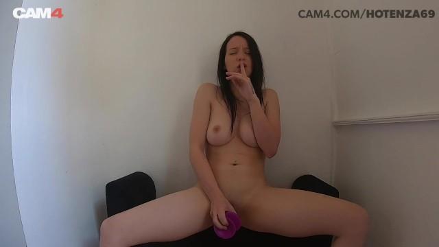 Amateur Teen Takes Dildo Up The Ass | CAM4