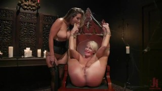 Halloween Party Surprise: Kayla Paige Returns to Whipped Ass!