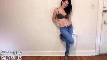 Modeling Levis Skinny Jeans, Big Ass Worship, Girl Next Door, Boss/Employee