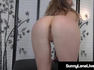 Little Pornstar Sunny Lane Masturbates Her Tingling Twat!