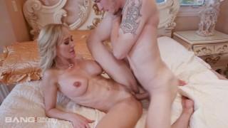 Trickery - MILF Brandi Love Tricks Stepson Into Sex