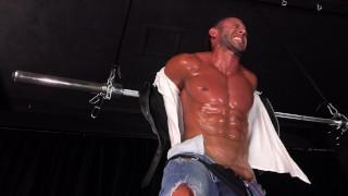 Hot Straight Muscle Stud Turned Bondage Pain Slave - DreamBoyBondage