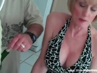 some For Horny Blonde Amateur GILF