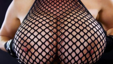 BUSTY ASIAN CUM SLUT KIANNA DIOR FISHNET FUCKING FACIAL