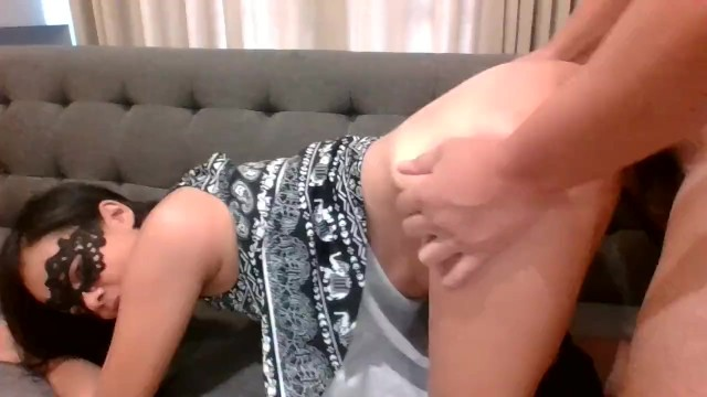 Young MILF, first time in porn. Pussy orgasm. Anal orgasm. She'll be back