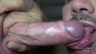 BLOWJOB FANTASY - Cum hungry slut sucks cocks and eats cum