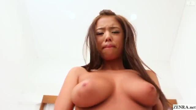 Hカップの褐色美女の巨乳がプルプル揺れるハメ撮り風イメージビデオ NAOMI