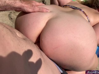 Cheating wife gets creampie from surf iuctor Erin Electra Erin Electra