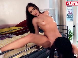 LETSDOEIT - Petite German Teen Nata Ocean Fucked By a BBC In Hostel