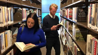 Hot Sex Tube - Angela White И Я Спокойно Читаю В Библиотеке