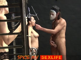 Spice My Sexlife Caged Domination Fuck