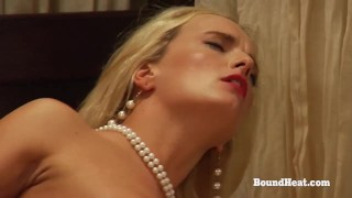 The Education of Erica: Lesbian Madame And Slave In Action With Strapon