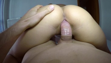 Blonde russian gets banged by stepbrother POV