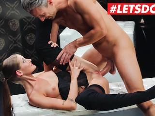 LETSDOEIT Smoking Hot Teen Tiffany Tatum Fantasy Fucked By Her Lover Lucky Lutro, Tiffany Tatum