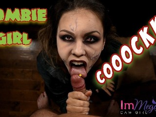 ZOMBIE GIRL HU FOR COCK ImMeganLive