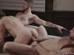 IconMale Threesome For The New Guy