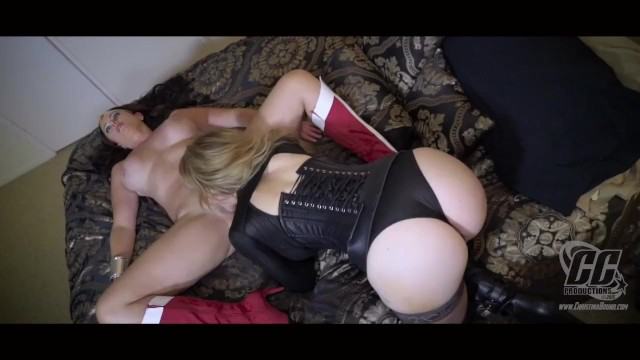 Adult games vampires kiss Vampire in thigh high boots takes on superheroine
